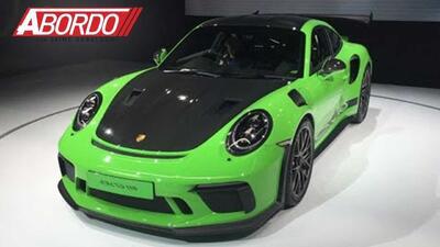 Llega el Porsche 911 GT3 RS 2019 a EEUU y lo tienen en NY: New York Auto Show