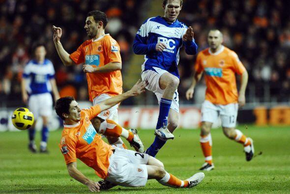 En el último duelo de la jornada, el Blackpool recibió al Birmingham.