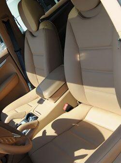 Los asientos de la Cayenne son amplios y cómodos.