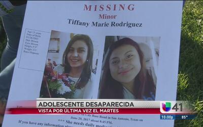 Familia busca desesperadamente a adolescente que desapareció hace dos días