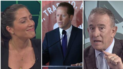 Candidatos a la Gobernación: Alexandra Lúgaro, David Berni...