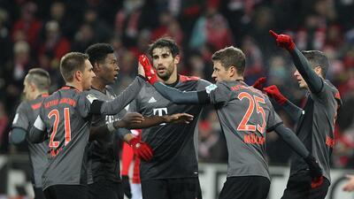 Bayern Munich se impuso al Mainz y es líder provisional de la Bundesliga