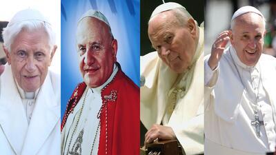 Se acerca el domingo de los Cuatro Papas