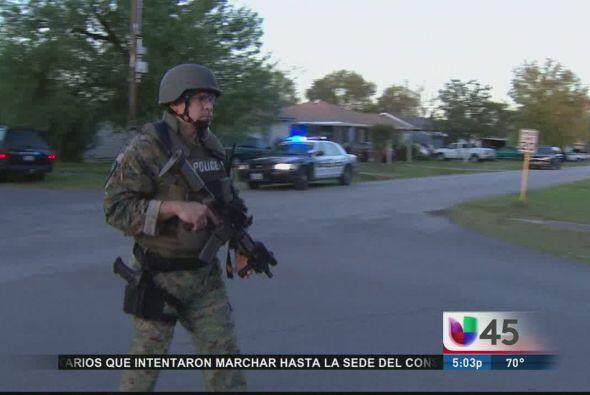 Un fuerte operativo policial que incluyó la participación del equipo tác...