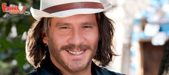 """En """"Una Familia Con Suerte"""" Pancho López fue un pap&aac..."""