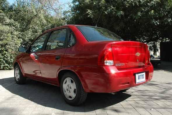 Nuestro auto de pruebas que era la versión 4 puertas incorpora una nueva...