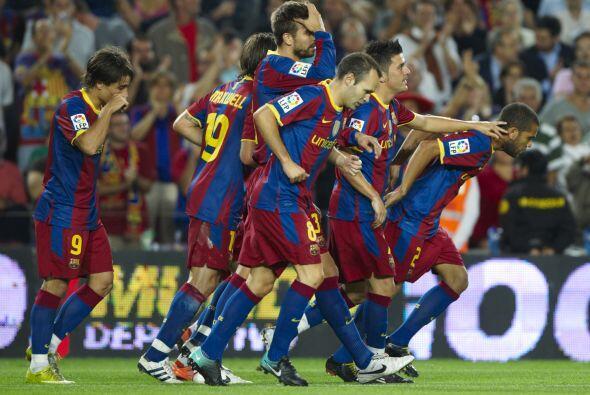 En la continuacipon de la fecha 4 de la Liga española, Barcelona...