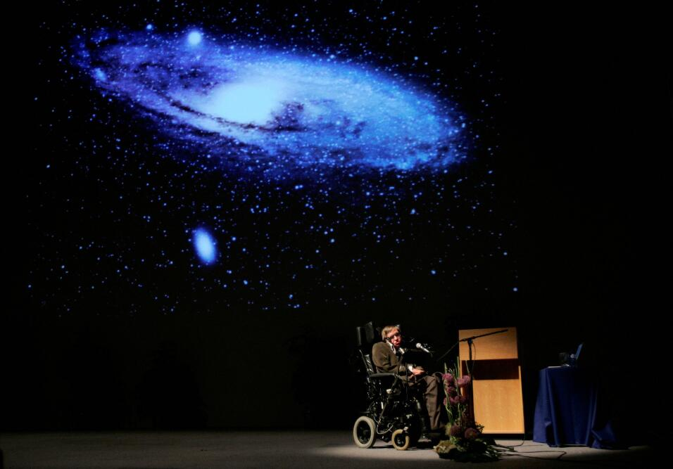 """Hawking presenta su libro """"El origen del Universo"""" en una conf..."""