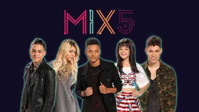 Mix5 es el nuevo fenómeno musical que nació esta noche en La Banda.