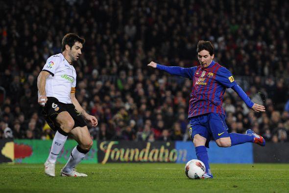 Faltaba el último tanto de Lionel, un banquete para el argentino.