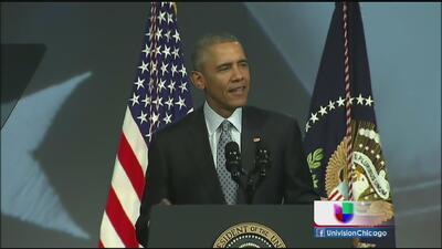 Obama ofreció apoyo a las policías municipales