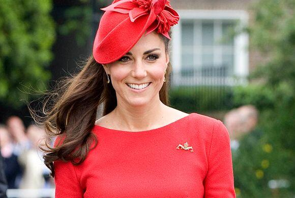 Kate Middleton está de manteles largos.