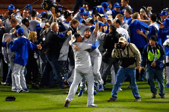 Kansas City Royals, nominado a Equipo del Año