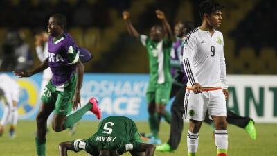 México perdió con Nigeria
