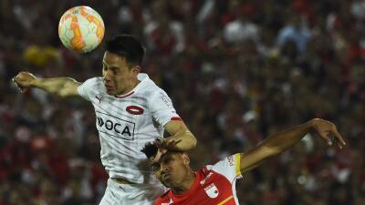 Sportivo Luqueño 1-1 Santa Fe: Santa Fe le arrebata el empate a Luqueño en la ida de semifinales