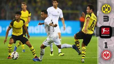¡Y eso que no lo querían! Marco Fabián juega 63' en derrota del Eintracht ante el Dortmund