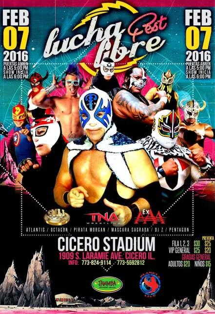 Lucha Libre en Cicero Stadium