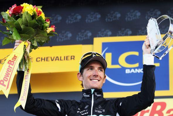 El luxemburgués cuenta con su primer triunfo de etapa este año, además d...