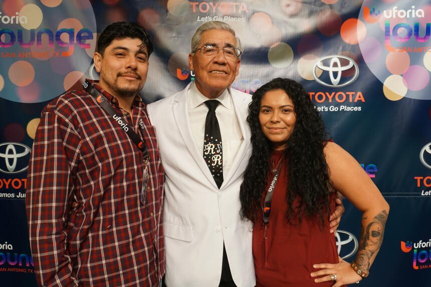 Lucky KXTN 107.5 Listeners Got To Meet Ruben Ramos After His Uforia Loun...