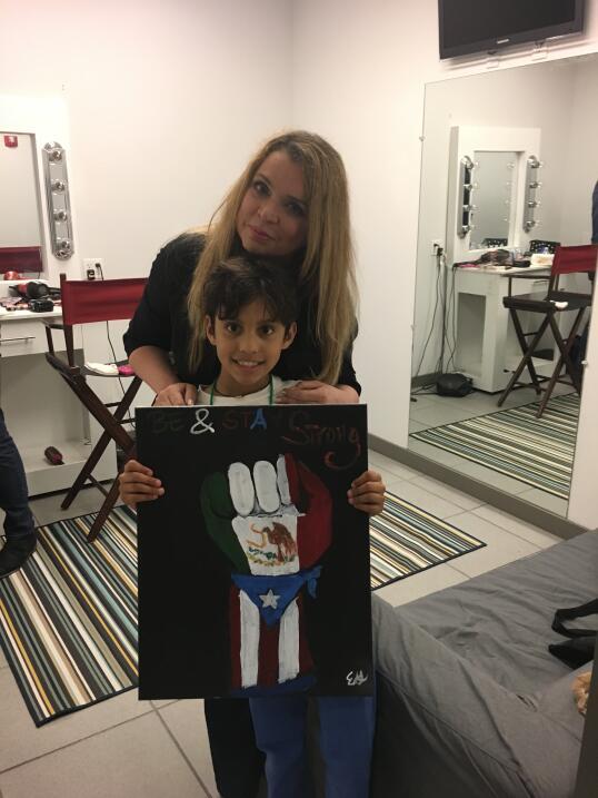 El conmovedor gesto de un niño para apoyar a los afectados por los desas...