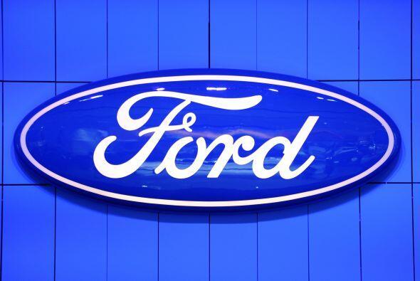 FORD- Este grupo automovilístico registró un beneficio neto de 20,213 mi...