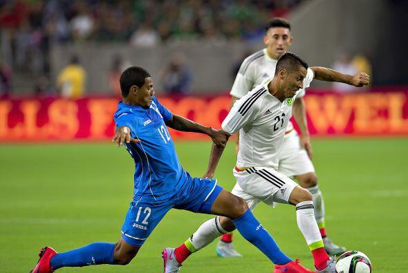 7     Brayan García supo frenar al equipo mexicano desde el medio campo...