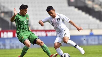 En fotos: Corea del Sur no pudo contra Bolivia y ya piensa en Suecia, México y Alemania
