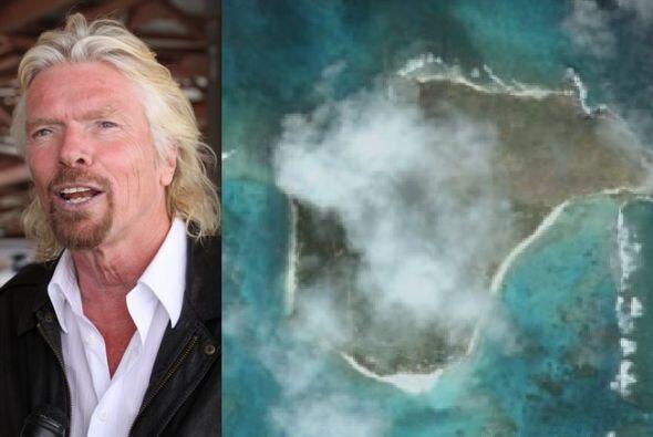 Richard Branson dueño del imperio Virgin compró esta isla Britanica por...