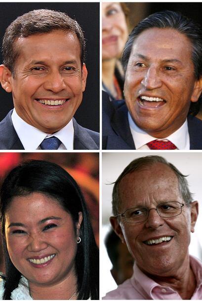 Las actas electores tenían a los cinco candidatos presidenciales: Alejan...