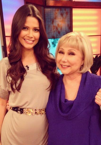 """Llego a casita Cristina Saralegui @DespiertaAmericaTv @Univision"", comp..."