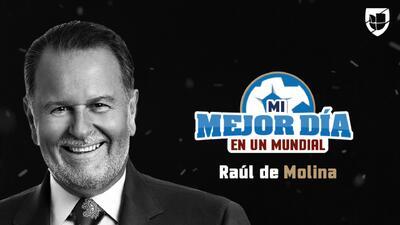 Raúl de Molina reveló cómo inició su pasión por el fútbol