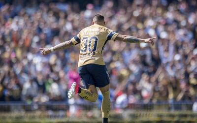 El chileno comenzó con todo el Clausura 2018 y ya tiene cuatro go...