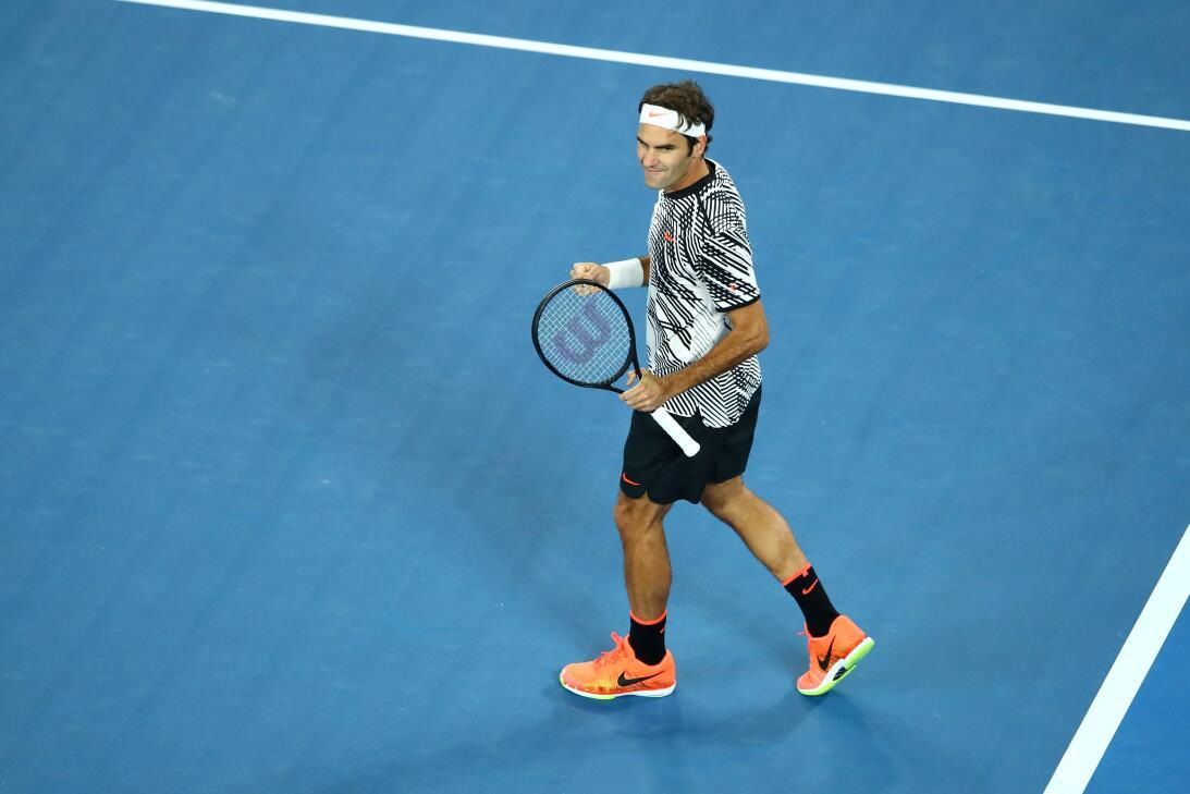 Roger Federer, Andy Murray y Angelique Kerber avanzan a los octavos de f...
