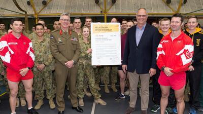 El ejército preparará a los atletas australianos rumbo a Tokio 2020
