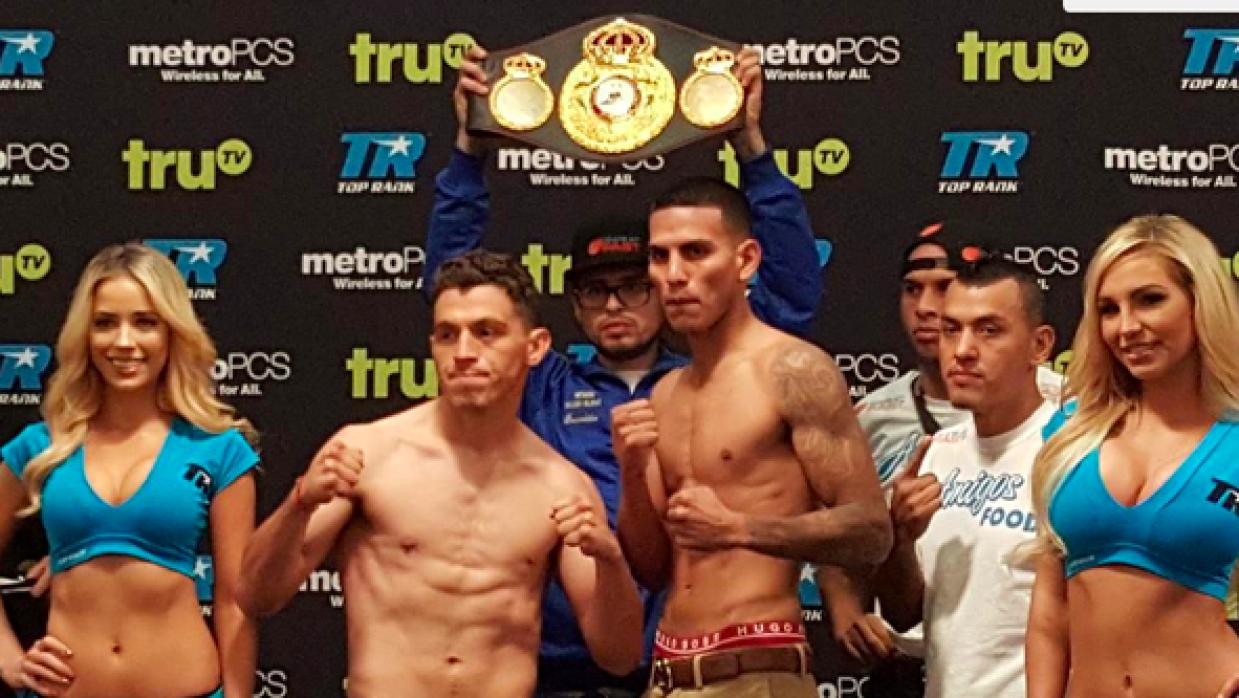 Páez y Benavidez en peso