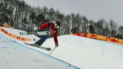 Swaney representó a Hungría en Pyeongchang 2018.