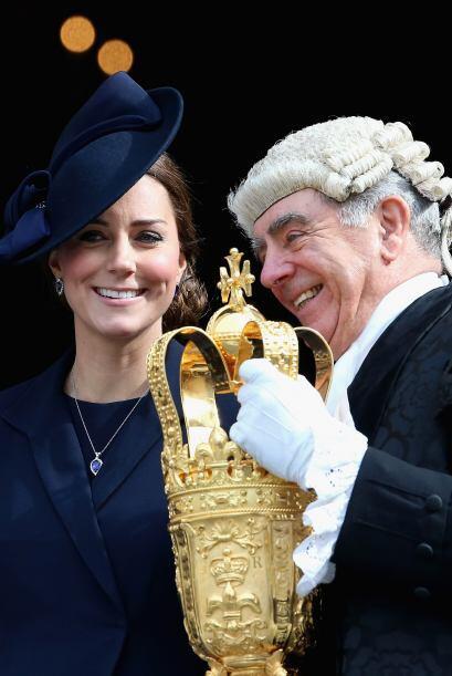 Mira más imágenes de la ceremonia en Londres, con la familia real.