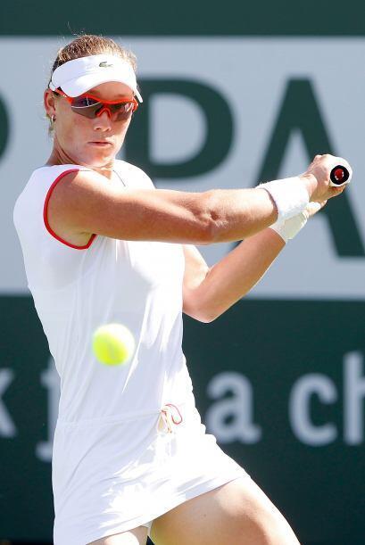#5 Con 4.606 puntos, la australiana Samantha Stosur.