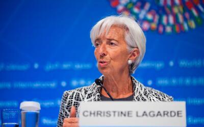 Chistine Lagarde, directora gerente del FMI.