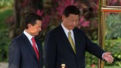 Gira del presidente de México, Enrique Peña Nieto, en China.