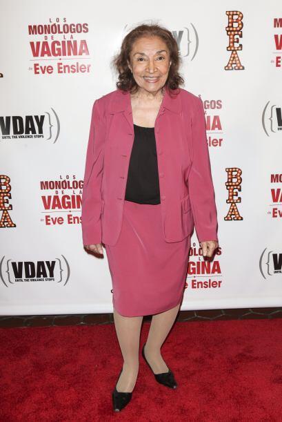 Miriam Colón también debutó en esta puesta en escena.