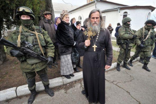 El Gobierno estadounidense ha denunciado la actuación de Rusia y ha amen...
