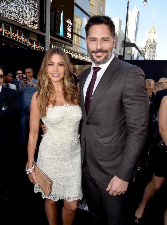 Mira a la feliz pareja durante el estreno de 'Magic Mike' hace unas sema...