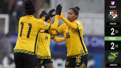 Jamaica derrotó por penales a Panamá y se clasificó al Mundial Femenino Francia 2019