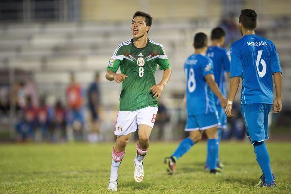 Hirving Lozano, el delantero de Pachuca despuntó con la selección Sub-20...