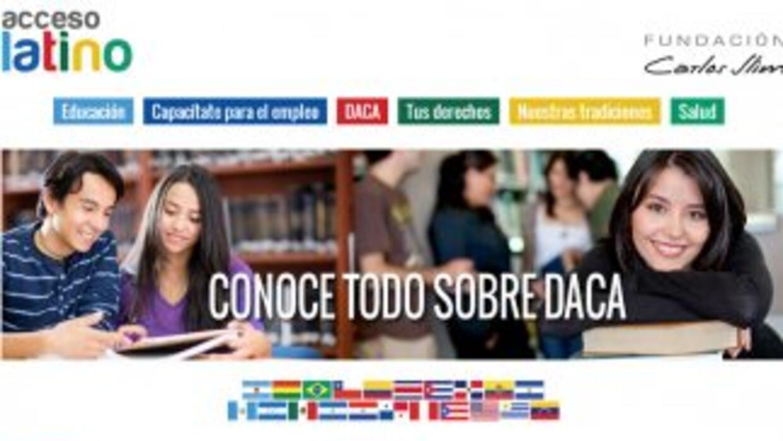 El portal accesolatino.org.