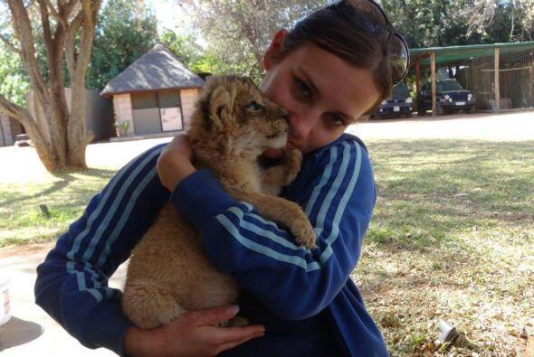 Ella siente que al entender a los animales también tiene una gran respon...