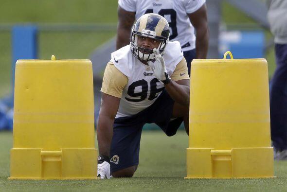 N°6 El novato cazador de cabezas de los Rams, Michael Sam  (AP-NFL).