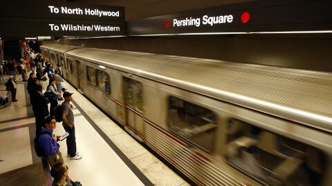 La estación Pershing Square, punto de conexión de tres l&i...