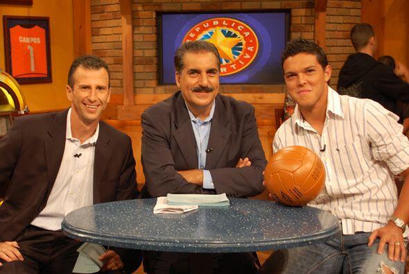 Luis Angel Landín también llegó al show este domingo.